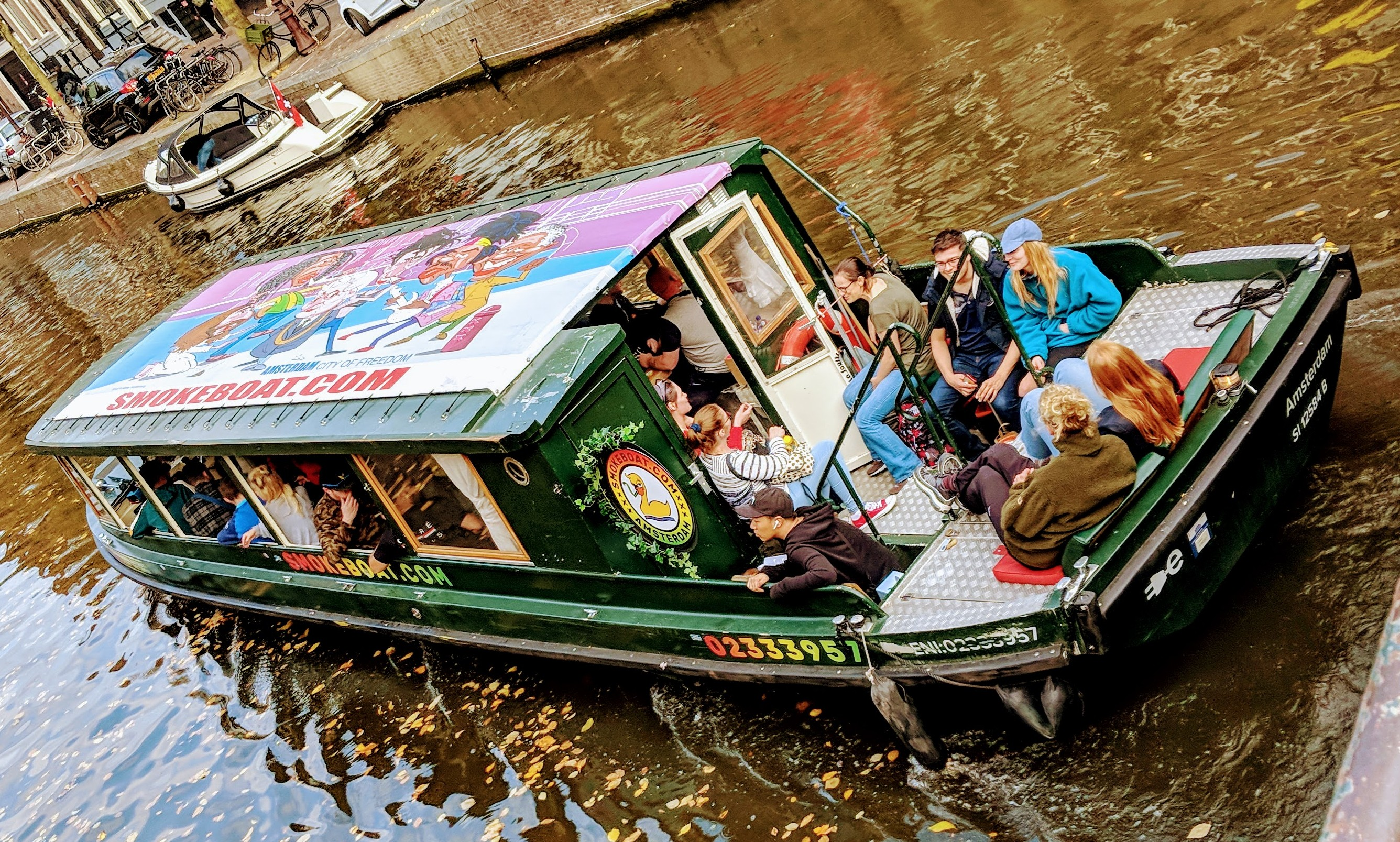 Smoke boat Amsterdam -The original & first Smokeboat® in the